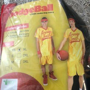 Dodgeball Halloween Costume- XL